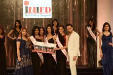 INIFD Corporate Miss Talented- Dnyanda Shringarpure, Gayathri Reddy and Pankhuri Gidwani
