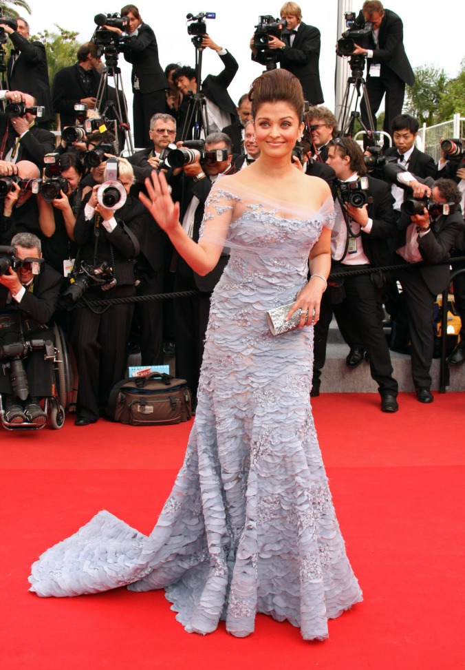Aishwarya Rai At Cannes Film Festival Over Years | The ...