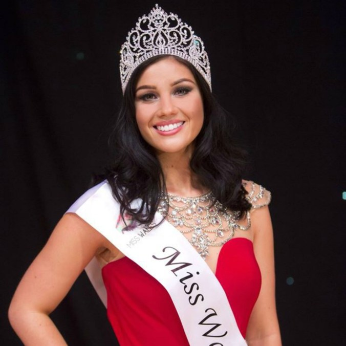 Ffion Moyle is Miss Wales 2016