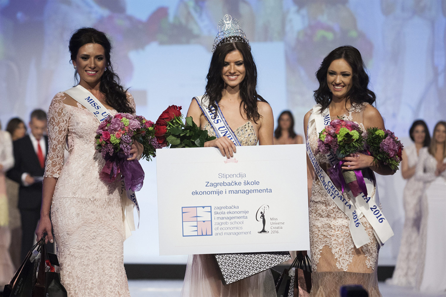 Zagreb, 15.04.2016 - Finalni izbor Miss Universe Hrvatske 2016. odrzao se u Kristalnoj dvorani hotela Westin