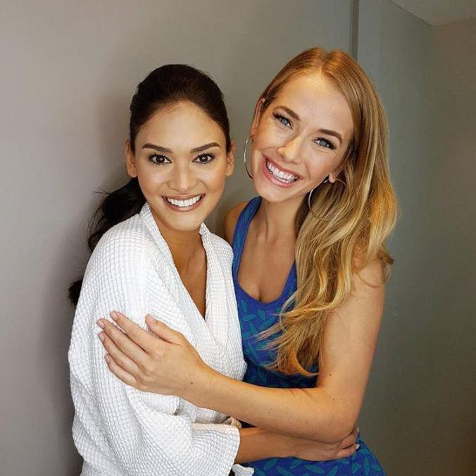 Pia and Olivia