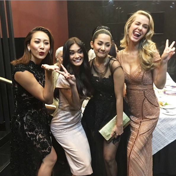 Pia Wurtzbach Miss Universe Friends