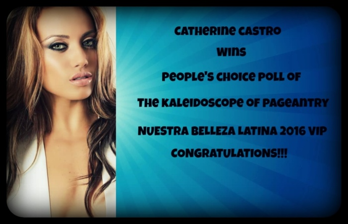 Catherine Castro People's Choice TKOP