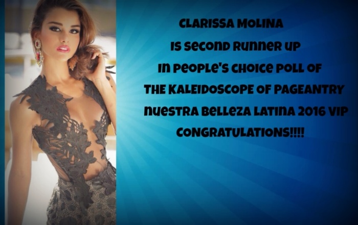 Clarissa Molina People's Choice NBL TKOP