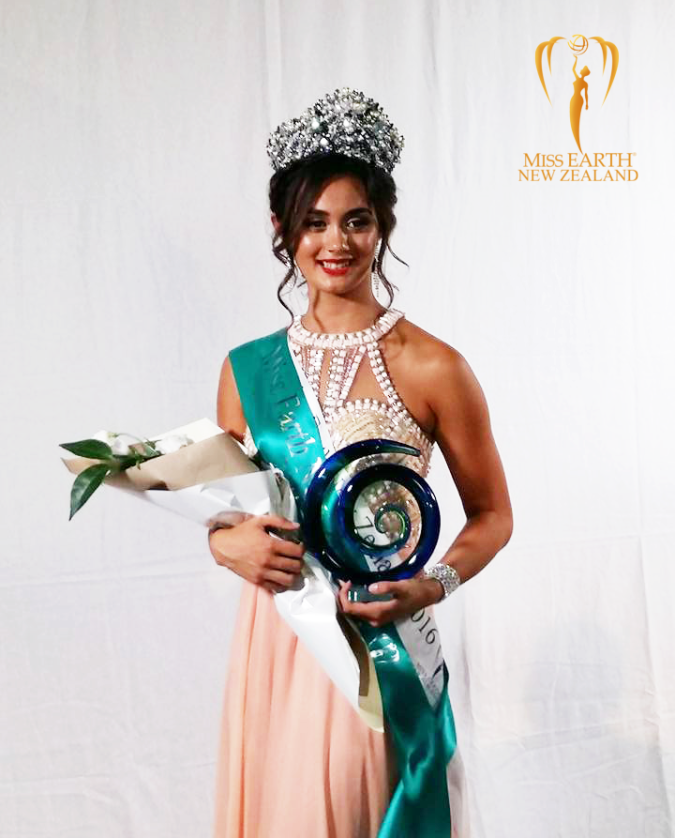 Miss Earth New Zealand 2016 Janelle Nicholas Wright