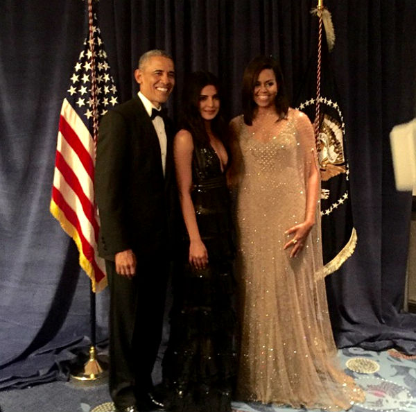 priyanka with obama