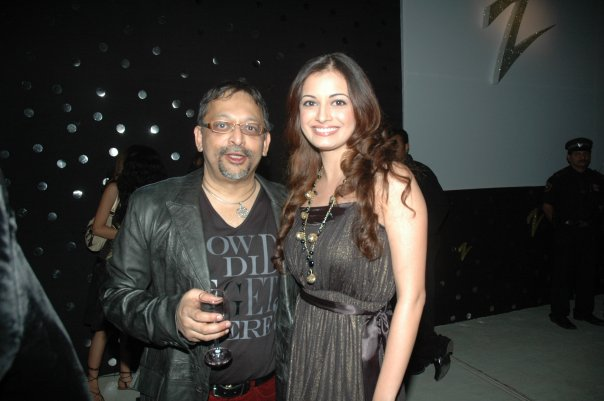 dia mirza with pradeep guha