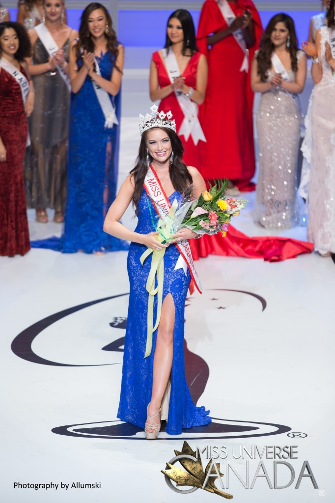 Siera Bearchell Miss Universe Canada 2016