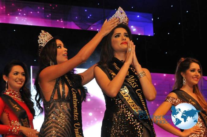 Nathalia Lago of Brazil is Miss United Continents 2015