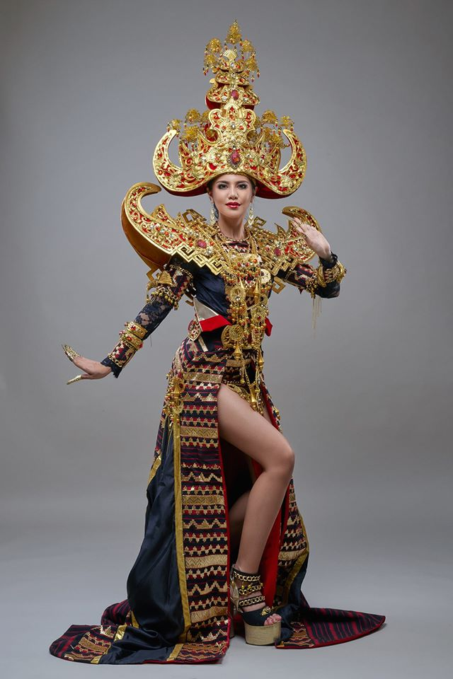 Indonesia Impresses Again in National Costume Round at Miss