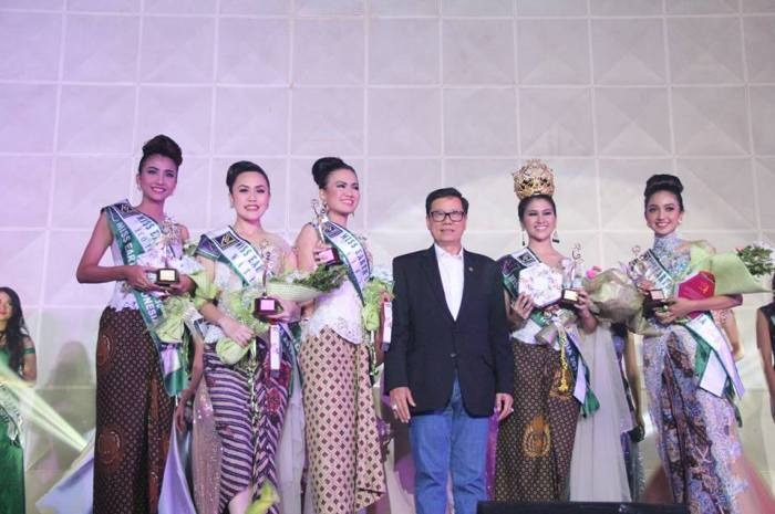 Michelle Victoria Alriani Miss Earth Indonesia 2017