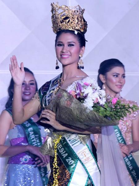 Michelle Victoria Alriani Miss Earth Indonesia