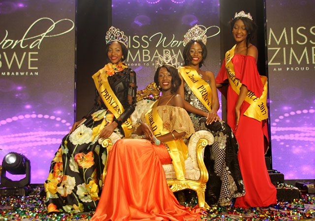 Miss World Zimbabwe 2017 Chiedza Mhsova