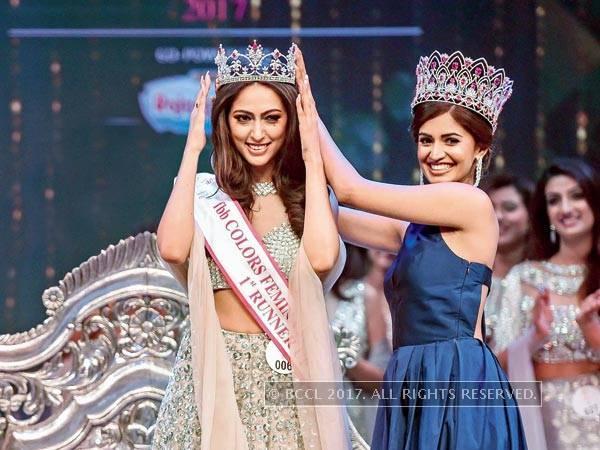 Sana Dua Crowned Femina Miss India United Continents 2017.jpg
