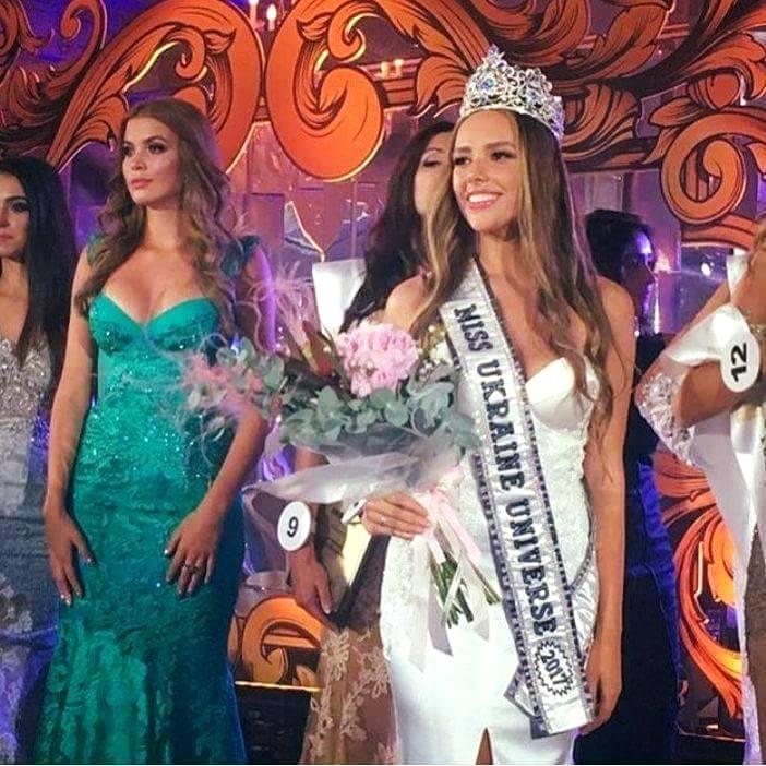 miss universe ukraine 2017 yana krasnikova