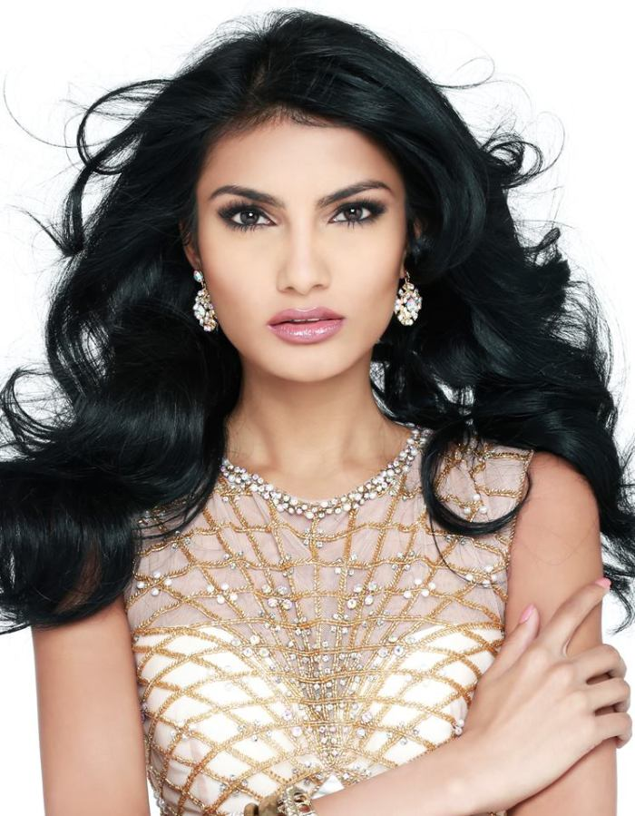 Rafieya Husain Miss Guyana UNIVERSE