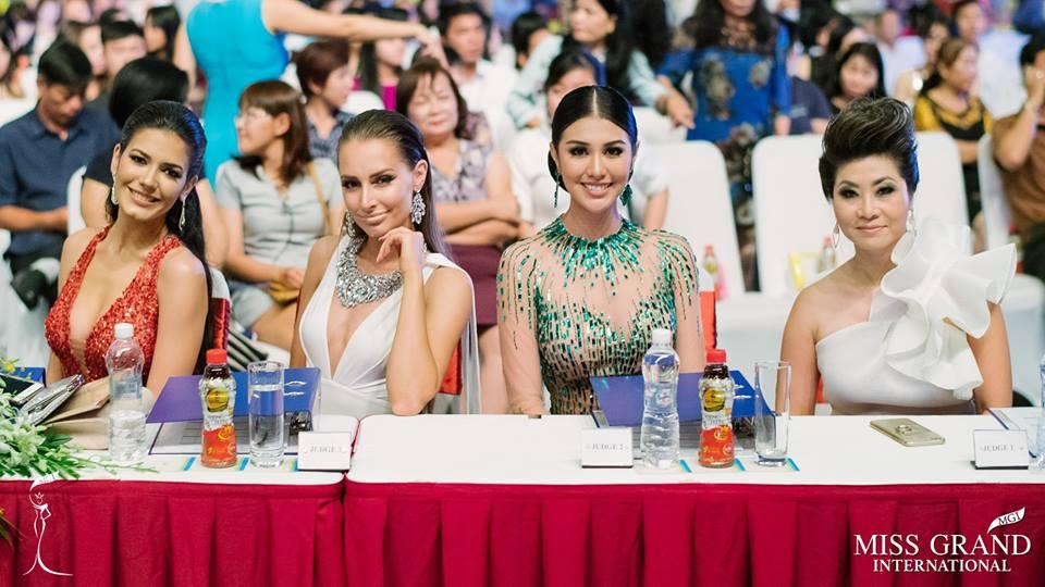 Judges Miss Grand International