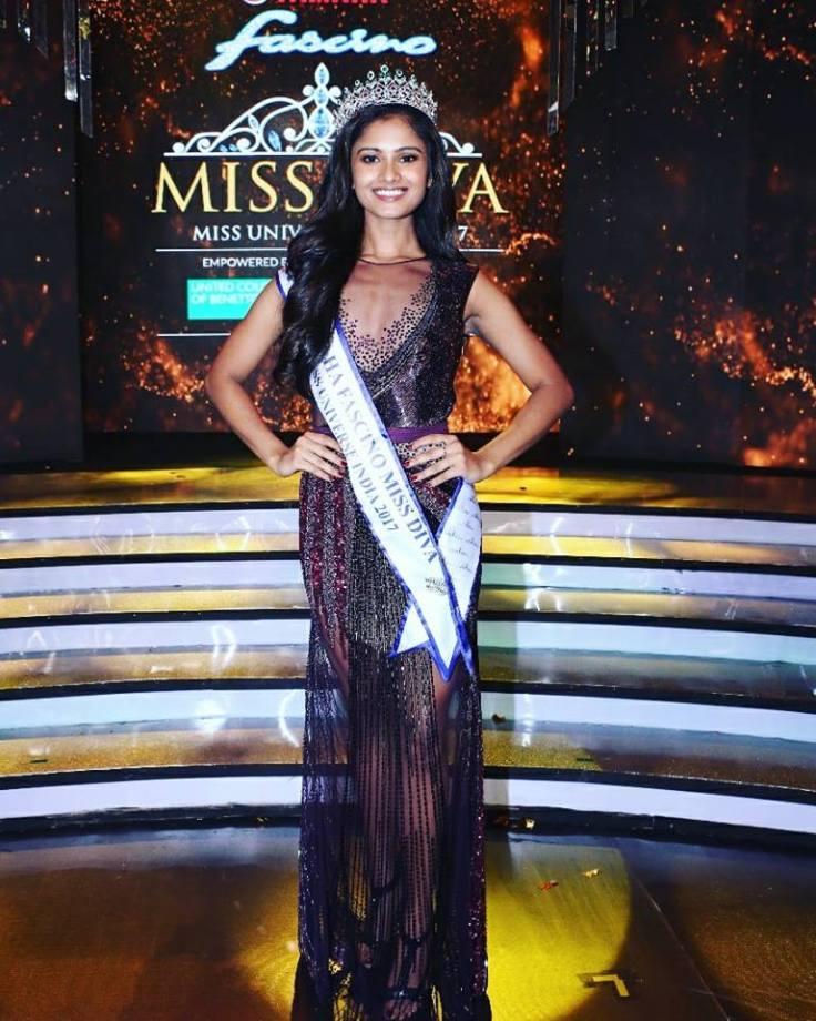 Shraddha Shashidhar Miss Universe 2017
