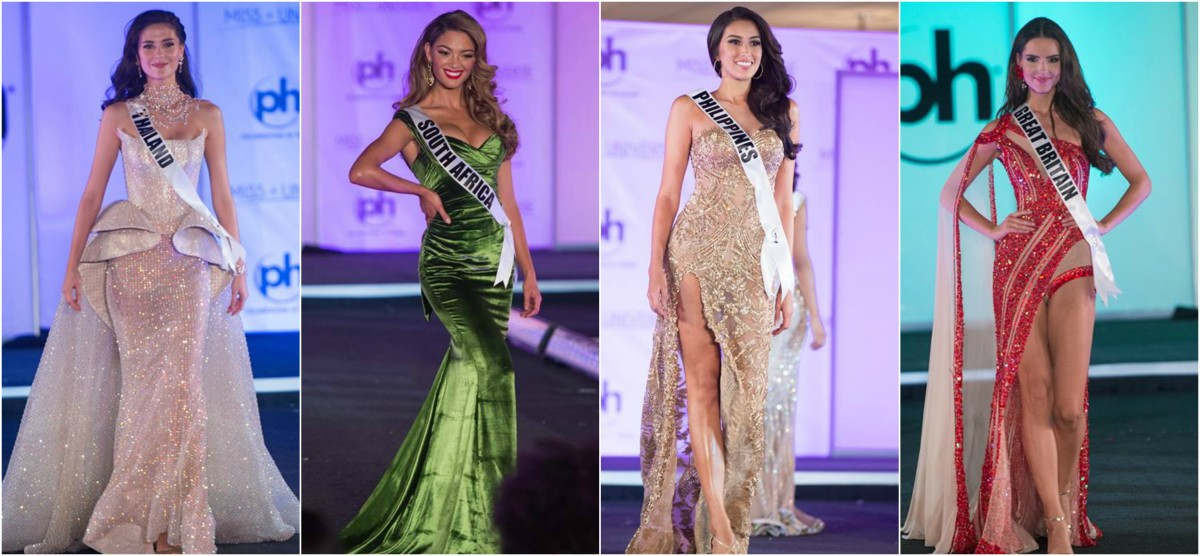 The Best And Worst Evening Gowns Of Miss Universe 2017 Review
