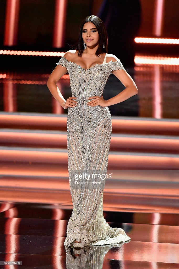 Laura Gonzalez Colombia Evening Gown Miss Universe 2017