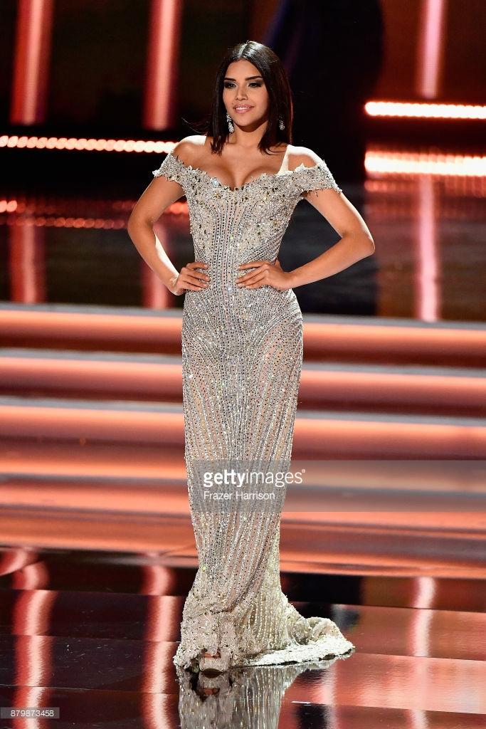 Laura Gonzalez Colombia Evening Gown Miss Universe 2017