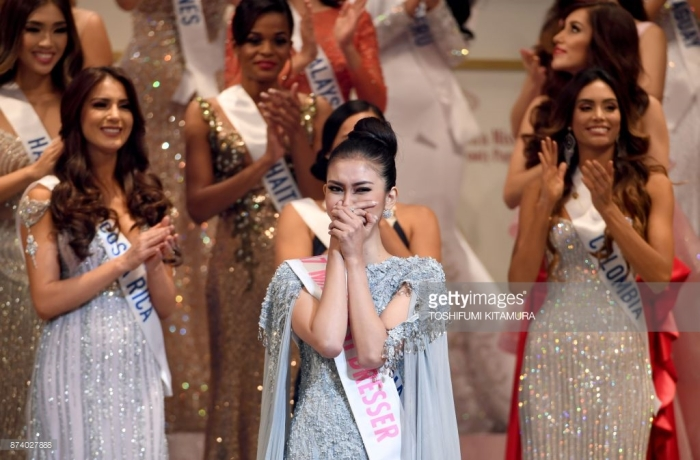 miss international 2017 kevin lilliana winning reaction