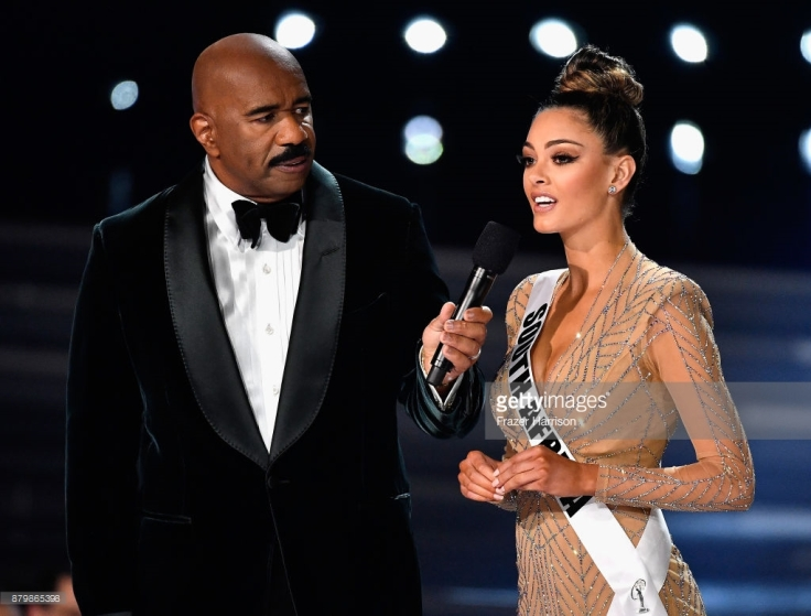 question answer south africa demi peters miss universe 2017