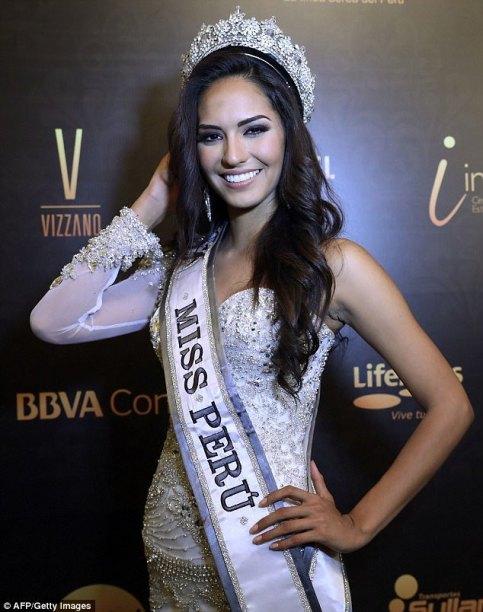 Romina Lozano Saldaña Miss Universe Peru 2018