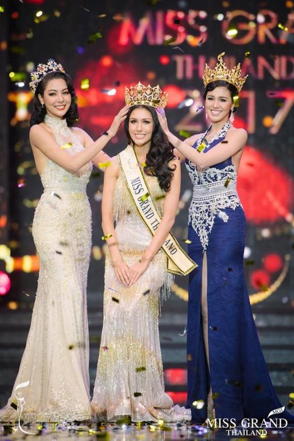 Miss thailand 2018 dress color