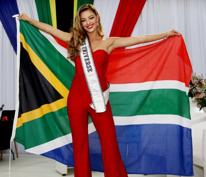 miss south africa 2017 miss universe demi homecoming