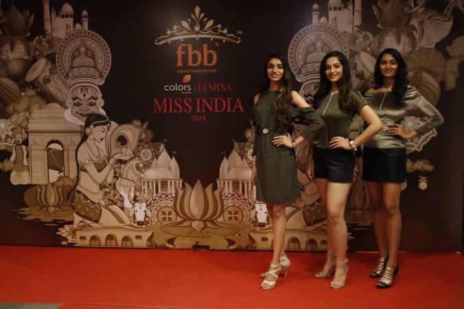 femina miss india chattisgarh 2018 annusriya sofia spandana