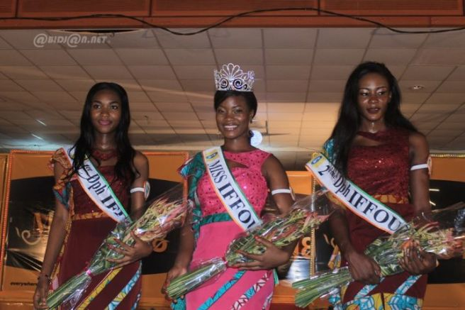 Coulibaly Awa - 1st runner-up at Miss Ivory Coast 2018 – Daoukro